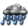 Partly Cloudy with Light Rain Likely